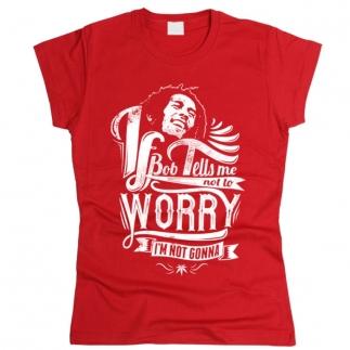 Bob Marley 07 - Футболка женская