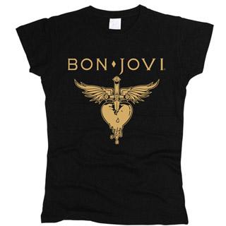 Bon Jovi 01 - Футболка женская