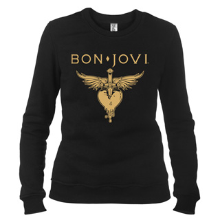 Bon Jovi 01 - Свитшот женский