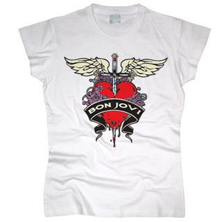 Bon Jovi 02 - Футболка женская