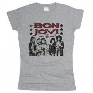 Bon Jovi 04 - Футболка женская