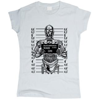 C3PO 02 - Футболка женская