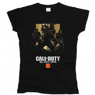 Call Of Duty 03 - Футболка женская