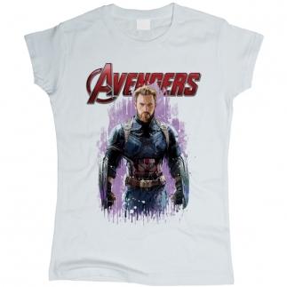 Captain America 01 - Футболка женская