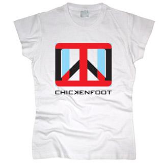 Chickenfoot 02 - Футболка женская