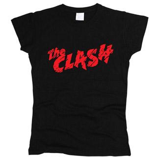 The Clash 02 - Футболка женская