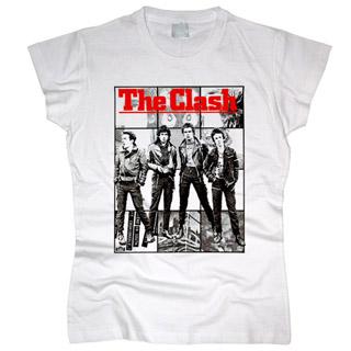 The Clash 04 - Футболка женская