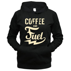 Coffee Is My Fuel - толстовка с капюшоном женская
