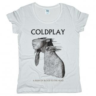 Coldplay 01 - Футболка женская оверсайз