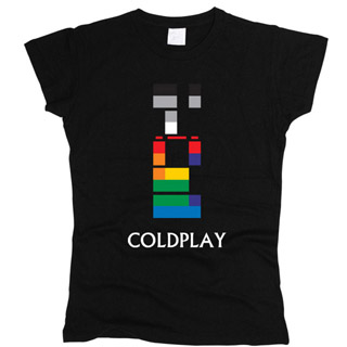 Coldplay 02 - Футболка женская