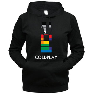 Coldplay 02 - Толстовка женская