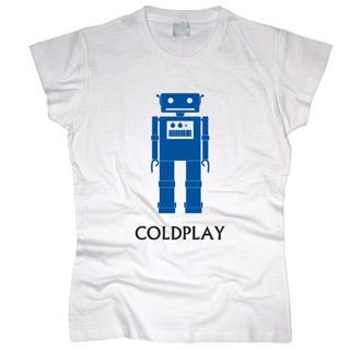 Coldplay 04 - Футболка женская