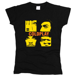 Coldplay 06 - Футболка женская