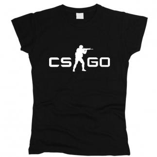 Counter Strike 01 - Футболка женская