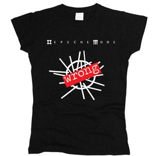 Depeche Mode 07 - Футболка женская