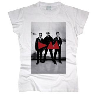 Depeche Mode 09 - Футболка женская