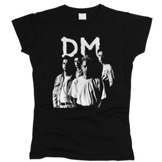 Depeche Mode 01 - Футболка женская