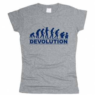Devolution 01 - Футболка женская