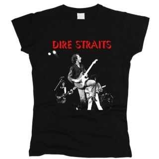 Dire Straits 01 - Футболка женская