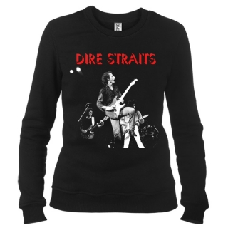 Dire Straits 01 - Свитшот женский