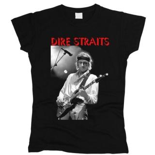 Dire Straits 02 - Футболка женская