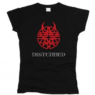 Disturbed 01 - Футболка женская