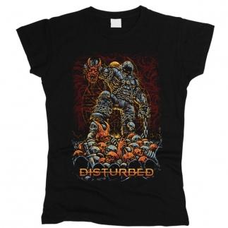 Disturbed 02 - Футболка женская