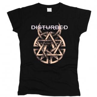 Disturbed 04 - Футболка женская