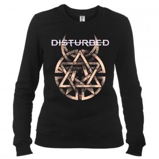 Disturbed 04 - Свитшот женский