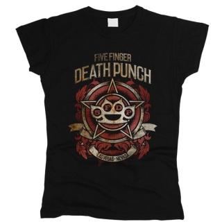 Five Finger Death Punch 08 - Футболка женская