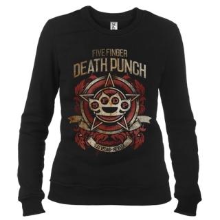Five Finger Death Punch 08 - Свитшот женский