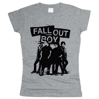 Fall Out Boy 03 - Футболка женская
