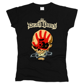 Five Finger Death Punch 03 - Футболка женская