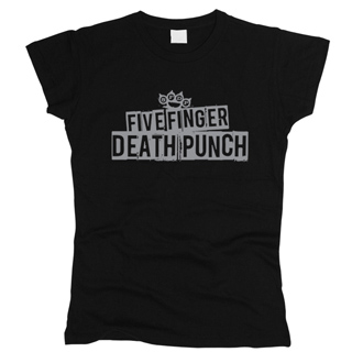 Five Finger Death Punch 04 - Футболка женская