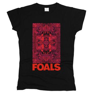 Foals 03 - Футболка женская