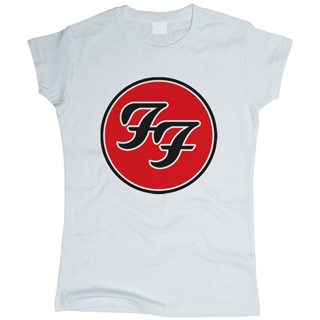 Foo Fighters 02 - Футболка женская