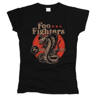 Foo Fighters 08 - Футболка женская