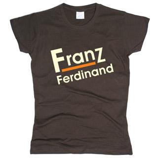 Franz Ferdinand 01 - Футболка женская