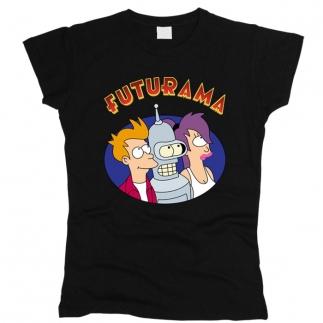 Futurama 02 - Футболка женская