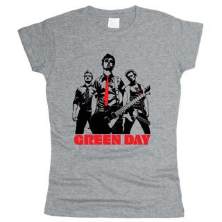 Green Day 01 - Футболка женская