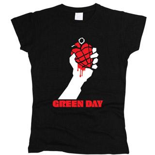 Green Day 02 - Футболка женская