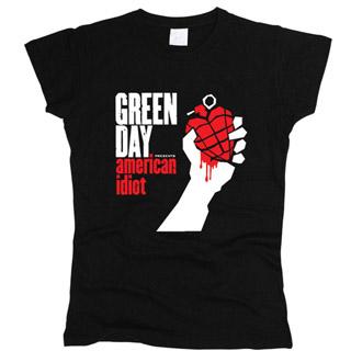 Green Day 07 - Футболка женская
