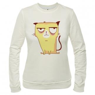 Grumpy Cat 01 - Свитшот женский