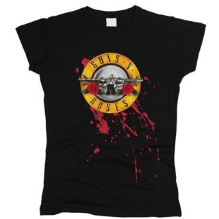 Guns N' Roses 01 - Футболка женская