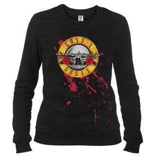 Guns N' Roses 01 - Свитшот женский