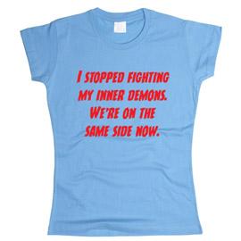 I Stopped Fighting - футболка женская
