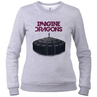 Imagine Dragons 03 - Свитшот женский