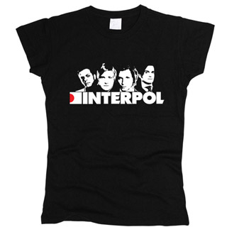 Interpol 01 - Футболка женская