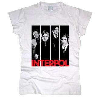 Interpol 02 - Футболка женская
