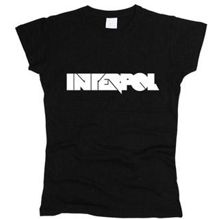 Interpol 03 - Футболка женская